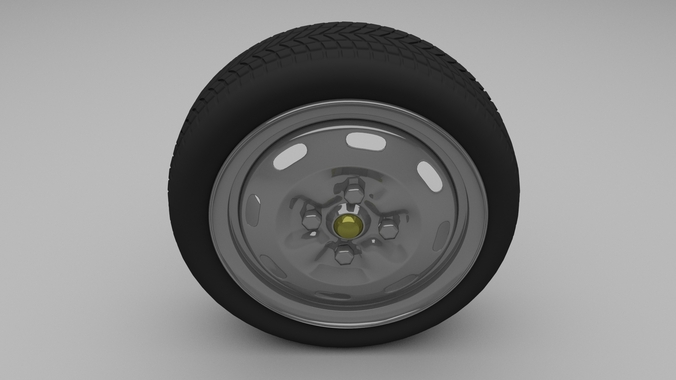 Lada Wheel3D model
