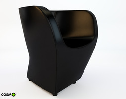 Armchair LITTLE ALBERT 3D Model