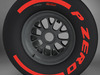 F1 tyre supersoft rear 3D Model