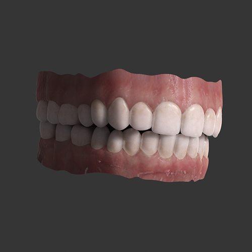 teeth 3d model max obj mtl 1