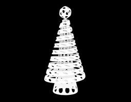 parametric christmas tree 3d printable model