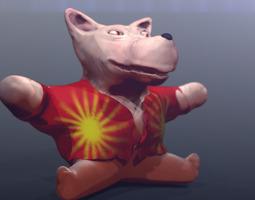 Teddy Dog 3D Model