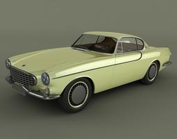 Volvo P1800 1961 3D Model
