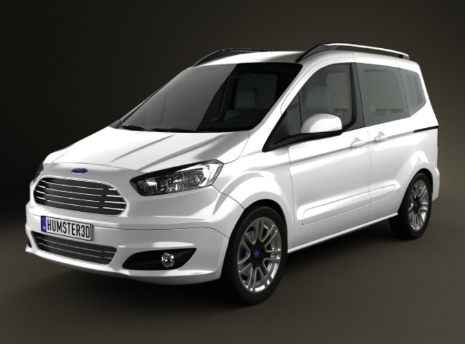 Ford Tourneo Courier 20133D model