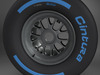 F1 tyre wet rear 3D Model