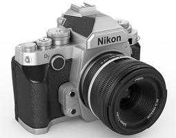 Nikon DF digidal camera 3D Model