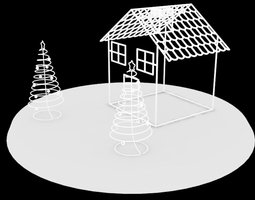 Grid_christmas_house_3d_model_stl_a6860890-5037-4f7d-87ae-56fa4acfea15