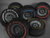 F1 tire collection 3D Model