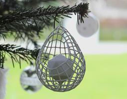 3D printable Christmasball 3D Model