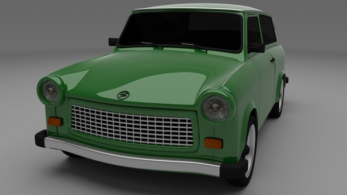 Trabant 601 estate3D model