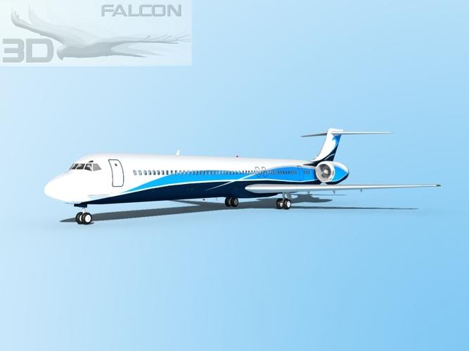 Falcon3D MD-80 Corporate 33D model