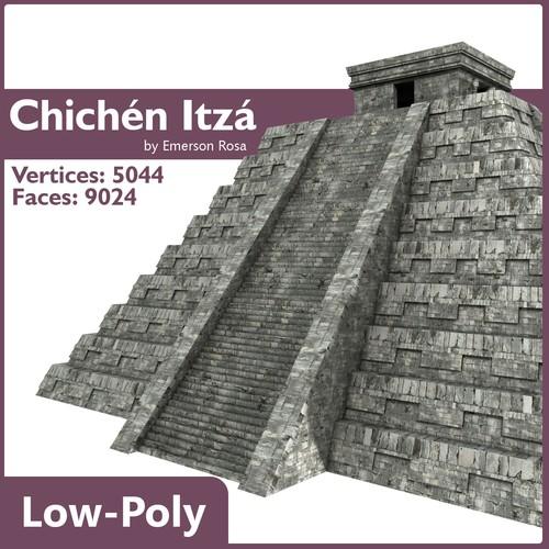 Chichen Itza Pyramid3D model