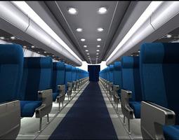 3D Interior plane 3