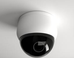 dome camera 3d model 3ds fbx blend dae
