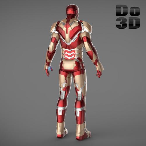 Iron Man 3 Suit Patriot IronMan 3 Suits-Mark 4...