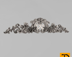 Horizontal decor decorative 3D print model