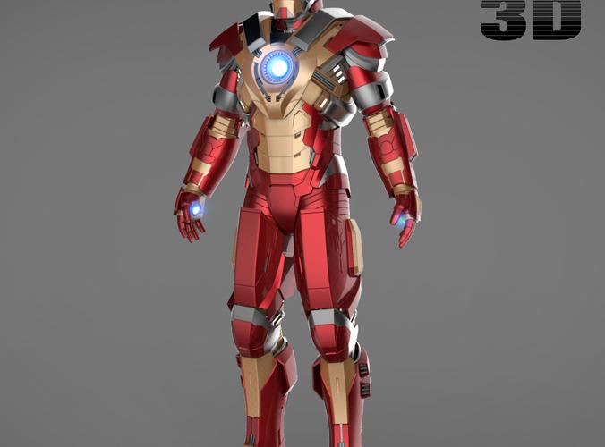 Iron Man 3 Suit - Mark 39 Gemini Mark 17 H...