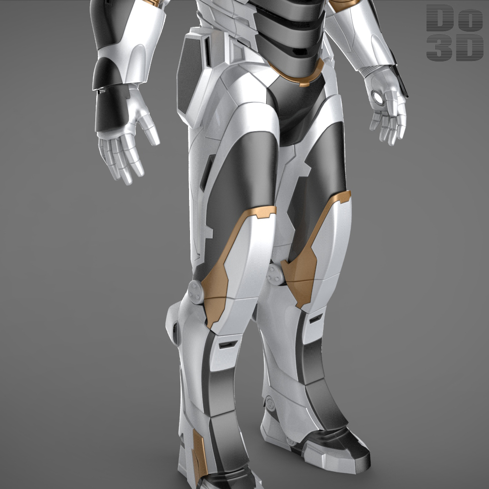 Iron Man 3 Suits - Mark 42 Tony Stark Mark...