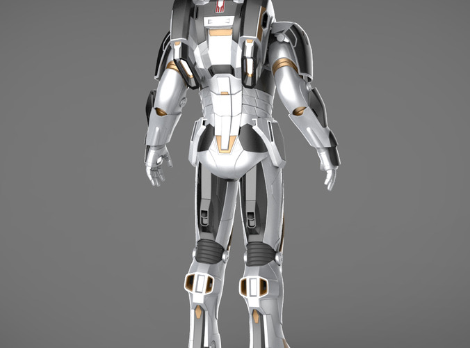 Iron Man 3 Suits - Mark 42 Tony Stark Mark... 3D Model ...