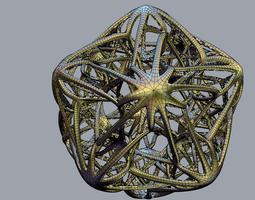 Octopus Star 3D Model