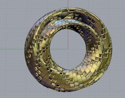 Klein Surface Holes 3D print model