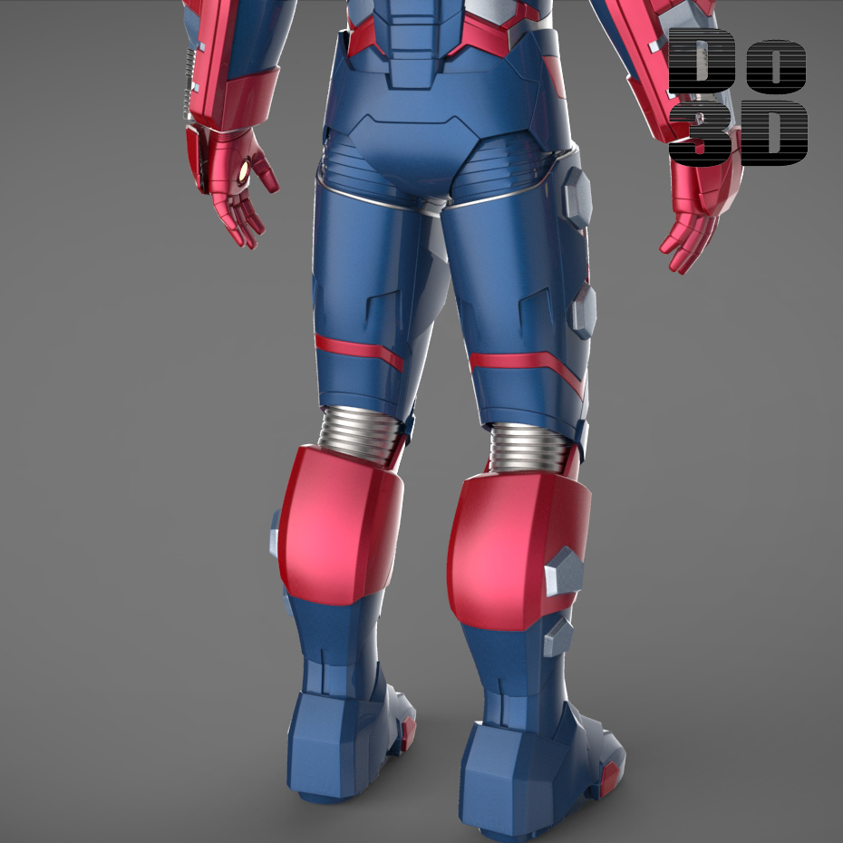 Iron Patriot Armor Iron Man 3 Suits Patriot