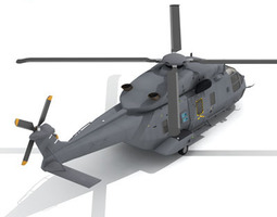 NH90 Helicopter 3D Model