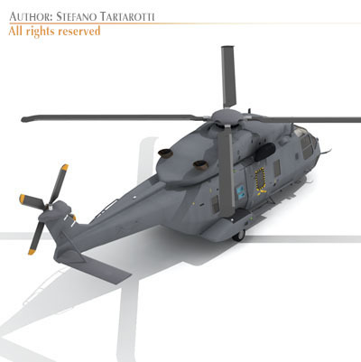 NH90 Helicopter3D model