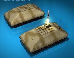 Missile tank 3D Model