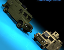military armored vehicle 3d model obj 3ds c4d dxf