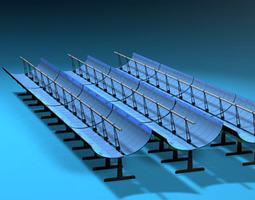 Solar thermodynamic panels 3D