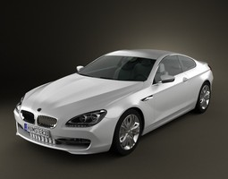 BMW 6 Series F12 F13 Coupe 3D Model