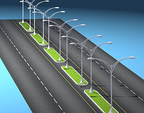 Roads set2 3D