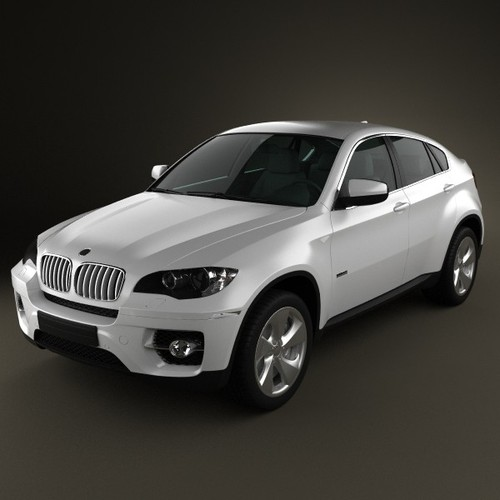 bmw x6 2011 3d model max obj 3ds fbx c4d lwo lw lws. Black Bedroom Furniture Sets. Home Design Ideas