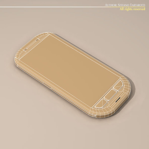 Smartphone3D model