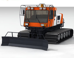 snowcat bres400 collection 3d model