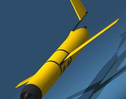 3D model Sonar Submarine