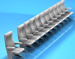 Theatre seats 3D