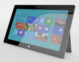 Microsoft Surface 3D Model