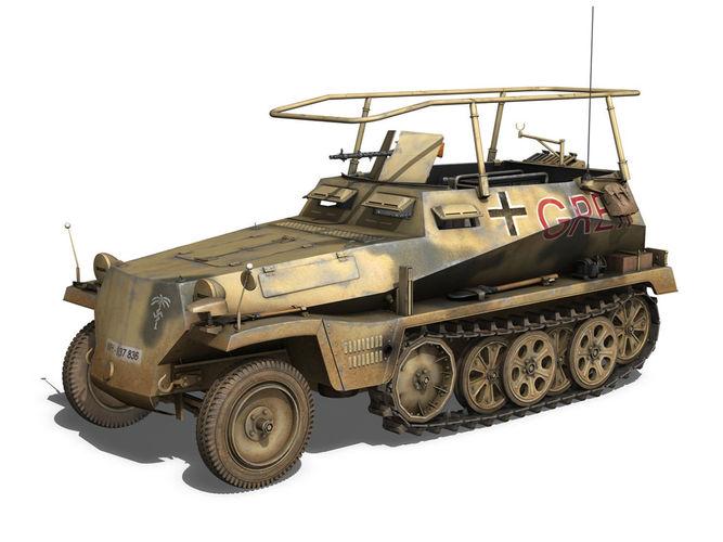 SD KFZ 250 3 - Half-tr...