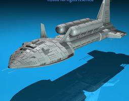 spaceship 3 3d