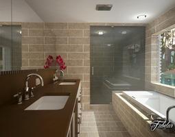 toilet Bathroom 3D model