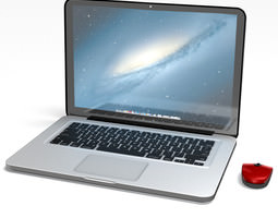 Macbook Pro 2nd generation  3D Model