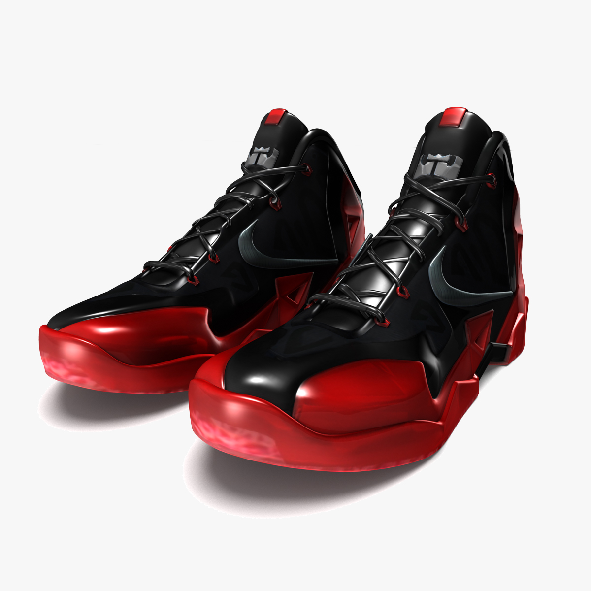 Lebron James Shoes 11 Red