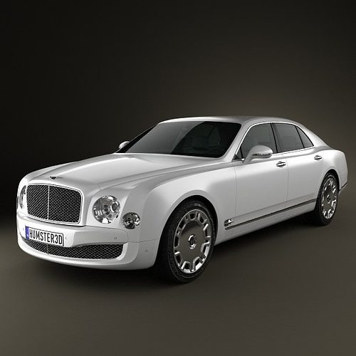 Bentley Mulsanne: 3D Model Bentley Mulsanne 2011