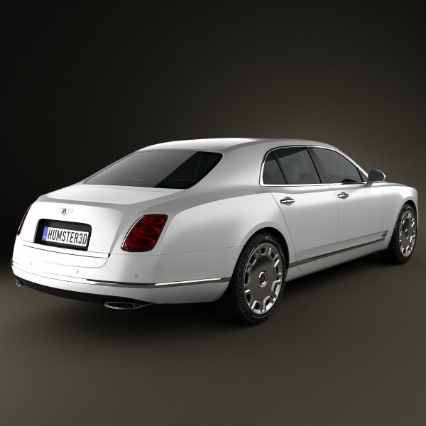 Bentley Mulsanne Bentley: Bentley Mulsanne 2011 3D Model MAX OBJ 3DS FBX C4D LWO LW