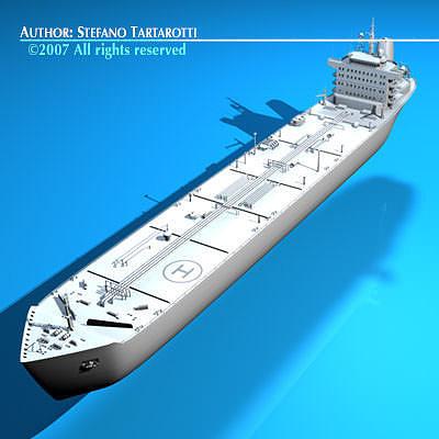 tanker ship 3d model obj mtl 3ds c4d dxf 1
