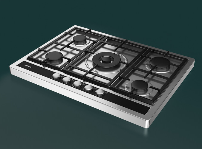 how to clean siemens gas hob