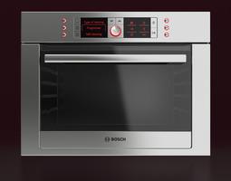 Bosch Built-in Combination Oven 3D model