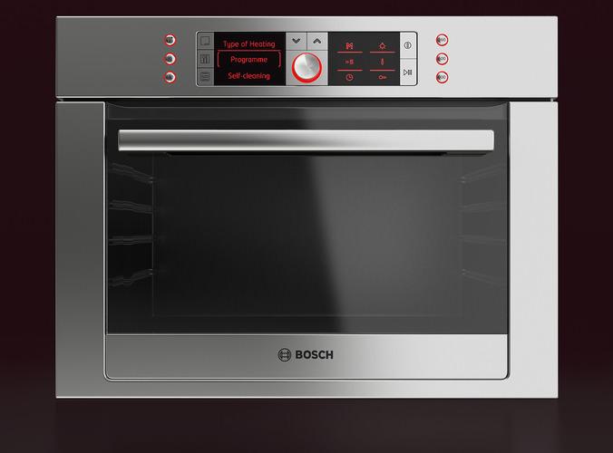 Bosch Built-in Combination Oven3D model